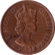 1/12 shilling - Elizabeth II (1ère effigie ; Libération) – avers