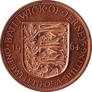 1/12 shilling Elizabeth II (1ère effigie) – revers