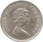 10 nouveaux pence Elizabeth II (2e effigie) -  avers