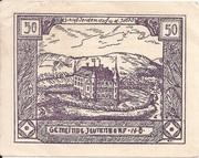 50 Heller (Jeutendorf) -  avers