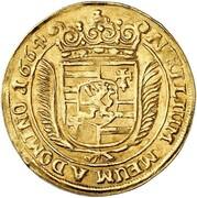 1 ducat Anton Günther – revers