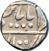 1 Rupee - New Madan Shahi - Jhalawar – avers