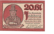 20 Heller (Jochberg) – avers
