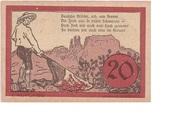 20 Heller (Jochberg) -  revers