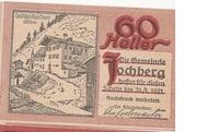 60 Heller (Jochberg) – avers