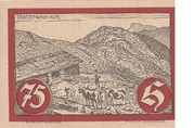 75 Heller (Jochberg) – revers