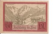 60 Heller (Jochberg) – revers