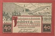 40 Heller (Jochberg) – avers