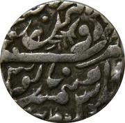 1 Rupee - Shah Alam II (Sojat mint) – revers