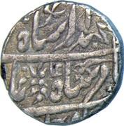 Rupee - Mohammad Akbar - II (Atelier de Jodhpur) – avers