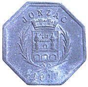 10 centimes - Union des  Commerçants - Jonzac [17] – avers