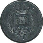 5 centimes - Union des  Commerçants - Jonzac [17] – avers