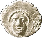 ½ Ma'ah-Obol - Hezekiah – avers