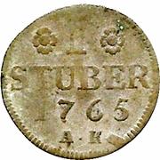 1 Stuber - Carl Theodor – revers