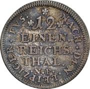 1/12 Thaler - Johann Wilhelm – revers