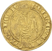 1 Goldgulden - Rainald (Bergheim) – avers