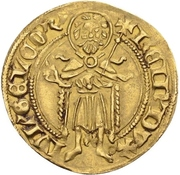 1 Goldgulden - Reinald IV. (Jülich) – avers
