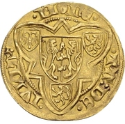 1 Goldgulden - Reinald IV. (Jülich) – revers