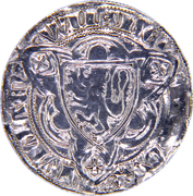 1 weisspfennig Wilhelm III – avers