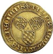 1 goldgulden - Wilhelm IV. (Münzvereinsgoldgulden) – revers