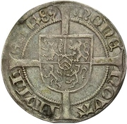 1 doppelbausche - Wilhelm IV. – revers