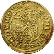 1 goldgulden - Wilhelm IV. – avers