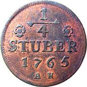 ¼ Stuber - Carl Theodor -  revers