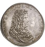 2 thaler Johann Wilhelm II – avers