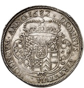 2 thaler Johann Wilhelm II – revers