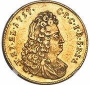 5 ducats Karl Philipp – avers
