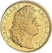 1 ducat Johann Wilhelm – avers