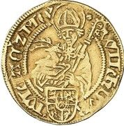 1 goldgulden Wilhelm IV – avers