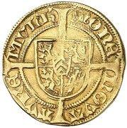 1 goldgulden Wilhelm IV – revers