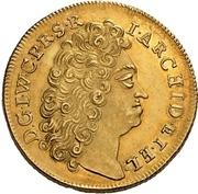 4 Ducat - Johann Wilhelm II. (Décès) – avers