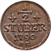 ½ Stuber - Carl Theodor – revers
