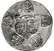 20 Stüber (monnaie de siège) – avers