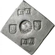 8 thaler (Monnaie de siège) – avers