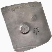 10 thaler (Monnaie de siège) – revers