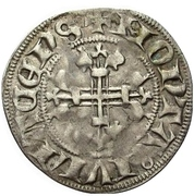 1 Sterling - Wilhelm II. (Brabantinus) – revers