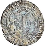1 Groschen - Wilhelm II. – avers