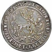1 guldengroschen Johann III – revers