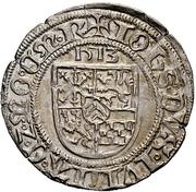 1 albus - Johann III. – avers