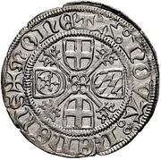 1 albus - Johann III. – revers
