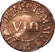 8 heller Johann Wilhelm I – avers