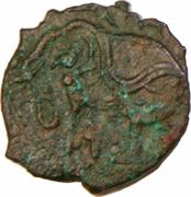 1 Jital - Vakka Deva (Shahis of Ohind) – avers