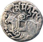 1 Jital - Samanta Deva (Shahi King) – avers