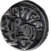 1 Jital - Kamaluka (Hindu Shahi Kingdom of Gandhara and Kabul) – avers