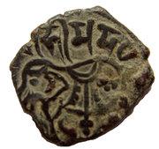 1 Jital - Bhima Deva Shahis of Ohind – avers