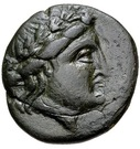 Bronze Æ18 (Kabyle) – avers