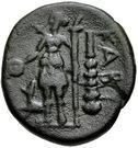 Bronze Æ18 (Kabyle) – revers
